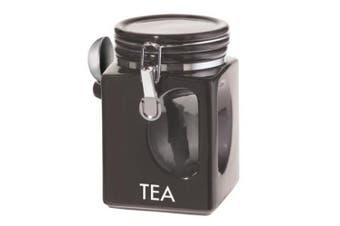 Oggi EZ Grip Tea Canister, Black