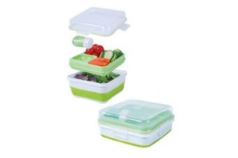 (black) - Cool Gear EZ-Freeze Salad to Go