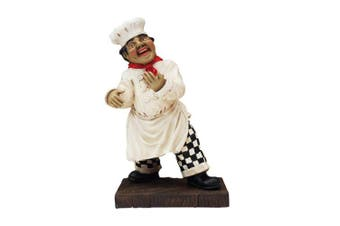Tuscany Italian Chef Wine Holder