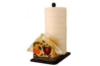 Tuscany Fruits Kitchen Paper towel holder w/ napkin holder