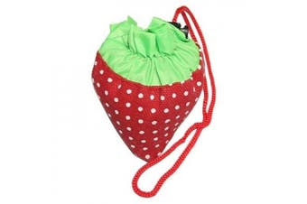 HDE (TM) Strawberry Foldable Bag (Assorted Colours)
