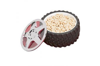 Tyre Bowl Snack Candy Knobby Tread Hubcap Mechanic Motorhead Car Engineer Gift