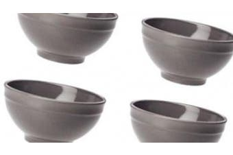 Emile Henry Cereal Bowls, Set of 4, Slate