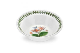 PORTMEIRION EXOTIC BOTANIC GARDEN Oatmeal bowl bird of paradise