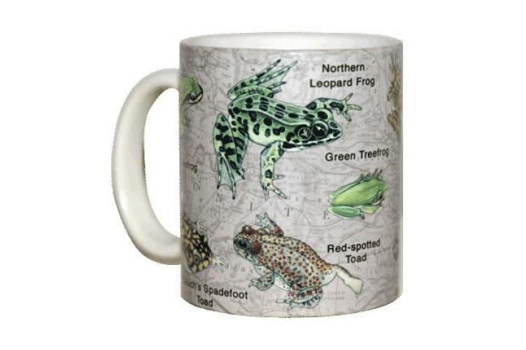 Frogs of North America Ceramic Coffee Mug or Tea Cup
