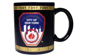 FDNY Coffee Mug Officially Licenced by The New York Fire Department