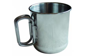 Chinook Timberline Single Wall Stainless Steel Folding Handles Mug