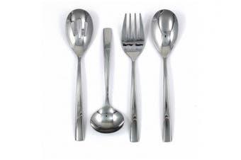 Ginkgo International President Stainless Steel Serving Spoon