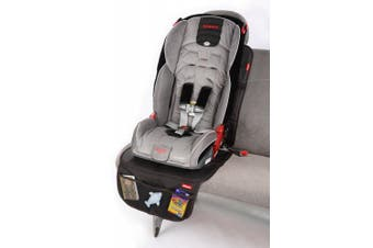 (1, Black) - Diono Ultra Mat Full-Size Seat Protector, Black