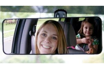 Pikibu I-See-You Car Family Mirror, Black