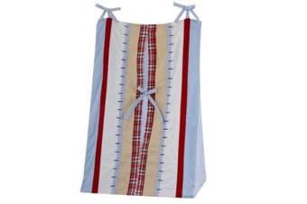 Bacati - Boys Stripes and Plaids Nappy Stacker