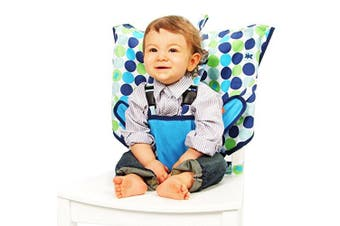 (Biggy Buttons) - My Little Seat Travel Highchair - Biggy Buttons