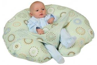 (sunnycircles) - Leachco Cuddle-U Original Nursing Pillow, Sunny Circles
