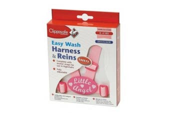 (1, NORMAL) - Clippasafe Easy Wash Harness & Reins (Little Angel)
