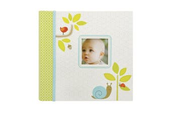 Carters Slim Bound Photo Journal Album, Woodland Multi-Coloured