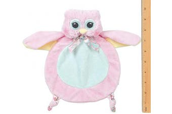 (Hoots) - Bearington Baby Collection Wee Lil' Hoot Owl Snuggler Security Blanket