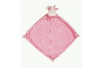 (Pink) - Angel Dear Giraffe Blankie - Pink