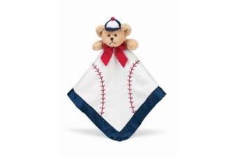 Bearington Baby Collection Baseball Slugger Snuggler Security Blanket - Baby Shower
