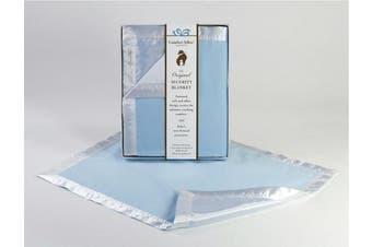 Blue COMFORT SILKIE Security Blanket ~ The Original. The Best. Award Winning.