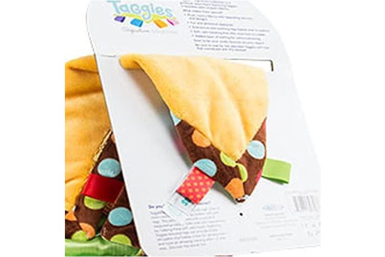 Mary Meyer Taggies Cosy Blanket Dazzle Dots Monkey Plush Toy
