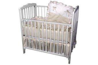 (Ecru) - Pretty Pique Porta Crib Set - colour: Ecru