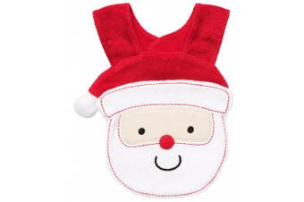Carter's Santa Novelty Bib-One Size