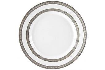 (Bread & Butter Plate) - 10 Strawberry Street Sophia 18cm Bread & Butter Plate, Set of 6, White/Silver
