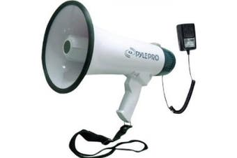 Pyle PMP45R Professional Dynamic Megaphone with Recording Function/Detachable Microphone and Rechagable Batteries