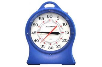Accusplit Battery Operated Pace Clock 35.6cm Blue AX850