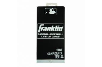 MLB Baseball/Softball Line Up Cards