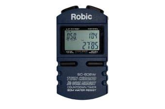 Robic SC-606W 50 Memory Stopwatch / Countdown Timer