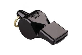 Fox 40 Safety Whistles 29080 Pearl Safety Whistle with Black Casing with Keyring
