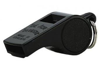 Markwort Acme Plastic Thunderer Small Size High Pitch Whistle, Black (1 Dozen)