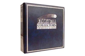 Ultra Pro 3-Ring (D-Ring Binder) Blue Basketball Card Album