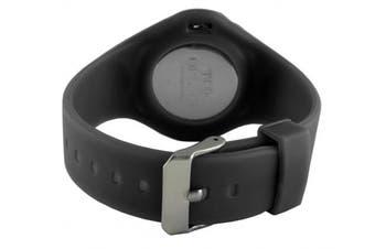 TKO ORLOGI Women's TK595BK Beach Lightweight Black Rubber Watch