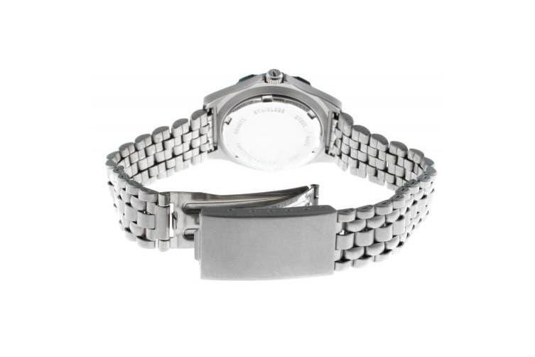 (black) - Peugeot Women's 181BK Silver-Tone Sport Bracelet Watch