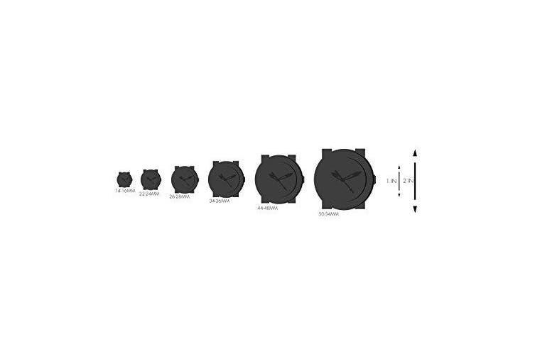 (black) - TKO ORLOGI Women's TK579-BK Genuine Ceramic Black Rubber Strap Watch