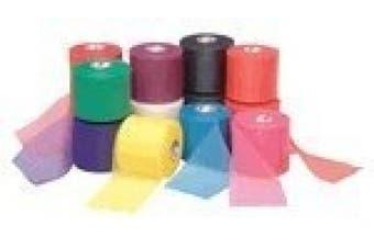 (aqua) - Mixed Colours Bulk Prewrap for Athletic Tape - 48 Rolls, Aqua