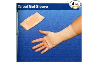 (small/left) - Silipos Carpal Gel Therapy Sleeve Small Left