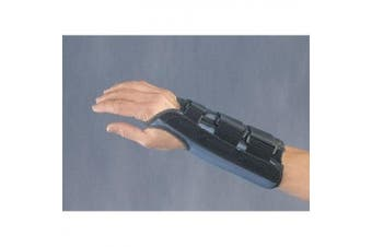 Wrist Control Carpal Tunnel Splint in Blue / Black Style: Large / Right