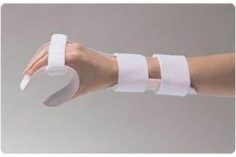 "Functional-Position Hand Splints. Deluxe Model, Right Size: Medium 3½""-10.2cm"