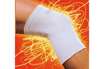 Sabona Of London Knee Support. White. Size Small To Medium