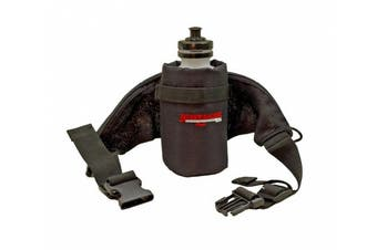 Bushwhacker Oasis - Insulated Hydration Hip Pack - Water Bottle Included - Black