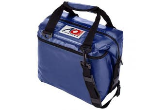 (12-can, Royal Blue) - AO Coolers Sportsman Vinyl Soft Cooler with High-Density Insulation