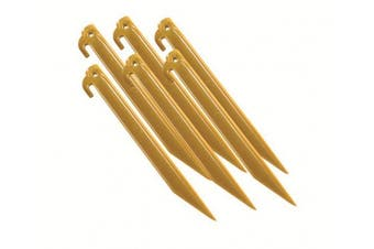 (1) - Coleman 2000016449 23cm Tent stakes