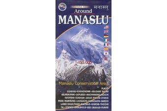 Around Manaslu 1:125000 -Nepal map