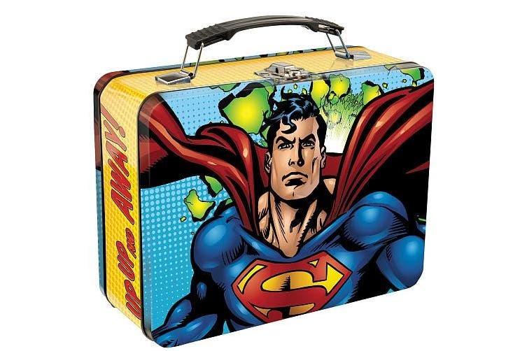Superman Tin Tote PDQ