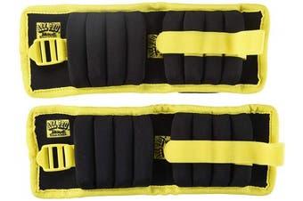 All Pro Weight Adjustable Aqua Power Aquatic Wrist Weights, 1.8kg