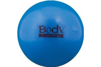 BodySport FusionBall 7.5 - 25.4cm Mini Fitness Ball - Use for pilates. Inflates with included straw. Ideal for isometrics, Core work. No pump necessary!