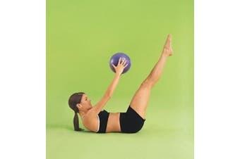 (1 Pack) - TheraGear Pilates Mini Ball, Purple, 23cm
